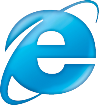 לוגו אינטרנט אקספלורר 6