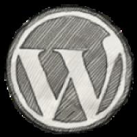לוגו וורדפרס