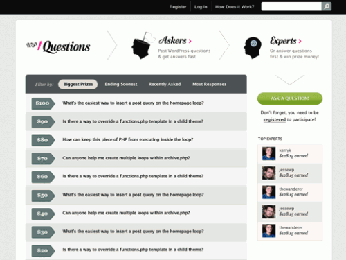 אתר WPQuestions.com