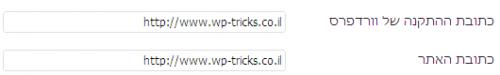 הגדרת דומיין עם www