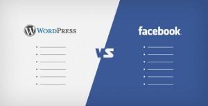 פייסבוק - וורדפרס