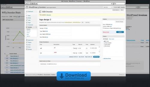 WordPress 3 Invoice
