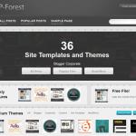 תבנית WP-Forest - עמוד ראשי