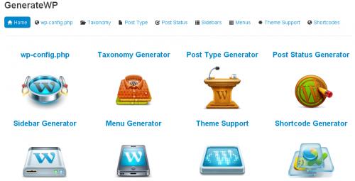 Shortcodes Generator