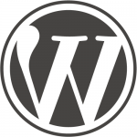 WordPress Logo RTL