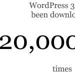 מונה ההורדות של וורדפרס 3.5