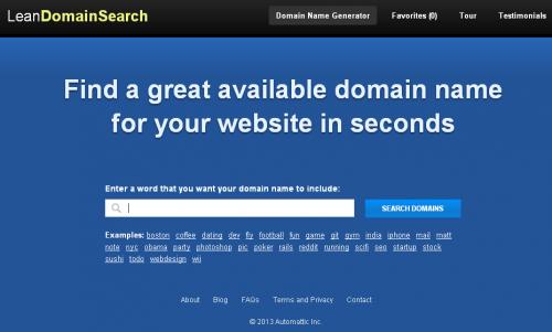 LeanDomainSearch.com